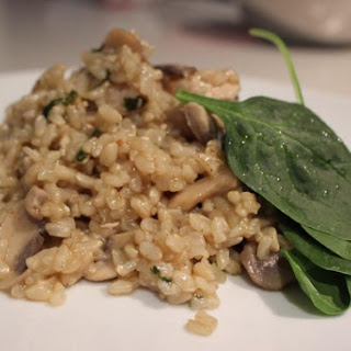 Spinach Mushroom Rice Recipes.