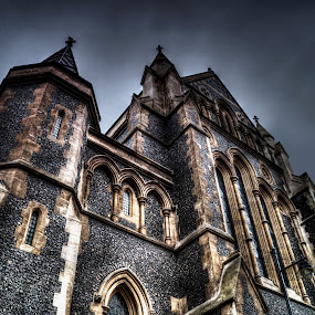 by Jade Newman - Buildings & Architecture Places of Worship ( catherdral, building, old, london bridge, london, hdr, architecture )