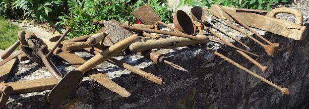 Photo: Antique tools - Soulomes vide grenier (flea market)