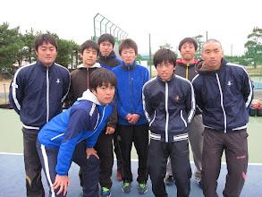 Photo: 1年生 後列:藤井、小谷野、萬福、志田、向井 前列:米田、前崎、小見山