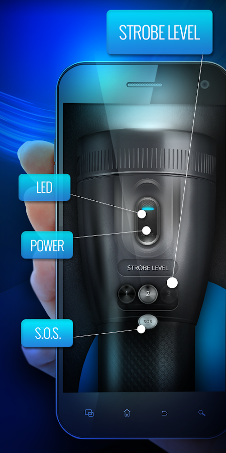 LED Torch Light - Flashlight- screenshot