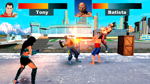 Kung Fu Extreme Fighting - Kick Boxing Deadly Game 1.0 screenshots 1
