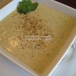 Indian Chicken and Almond Soup.