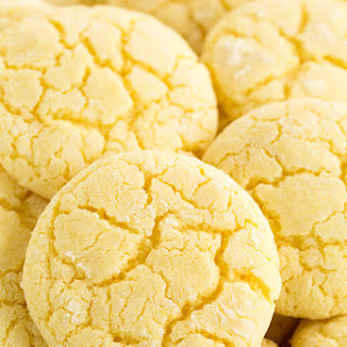 Lemon Crinkle Cookies.