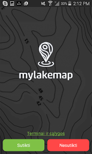 Mylakemap - náhled
