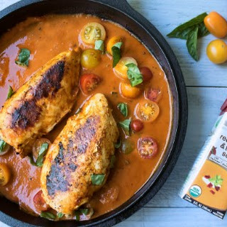 One-Skillet Roasted Red Pepper Chicken