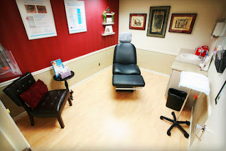 Photo: Inside our skin care clinic.