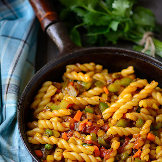 Indian Vegetarian Pasta Recipes