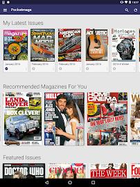 Pocketmags Magazine Newsstand Screenshot 5