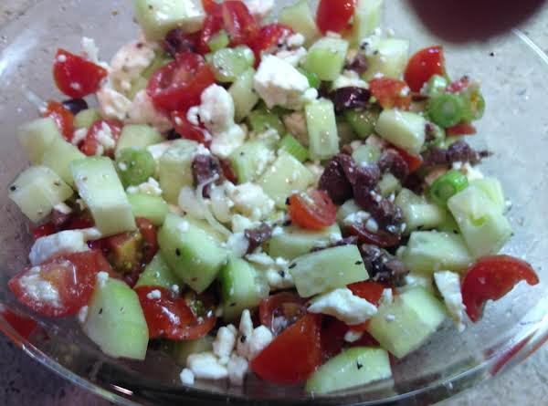 A Wonderful Salad Without Lettuce.
