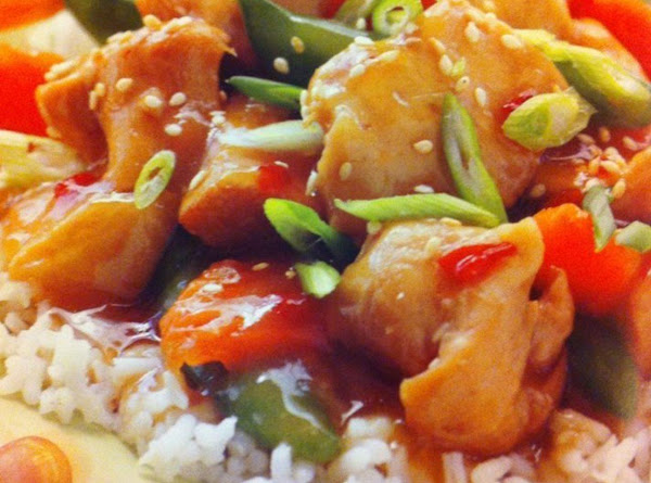 Crock-pot Sesame Chicken Recipe