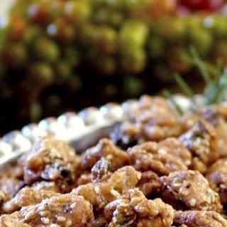 Brown Sugar, Fig and Rosemary Walnuts