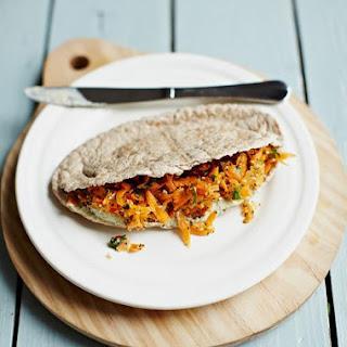 Crunchy Carrot Pitas