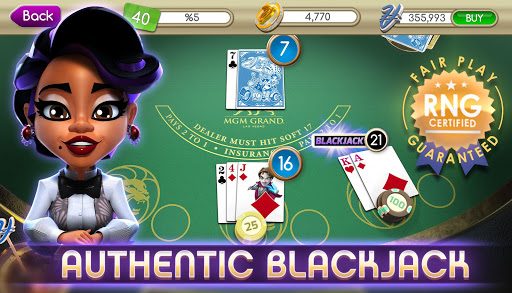 myVEGAS Blackjack 21 - Free Vegas Casino Card Game 1.23.0 Mod screenshots 5