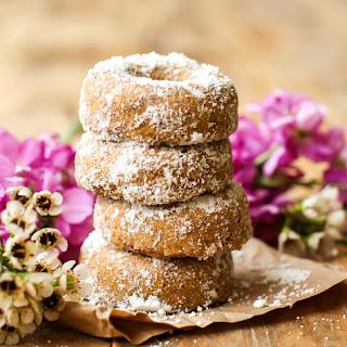 Vegan Mini Powdered Donuts