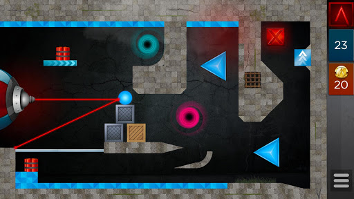 LASERBREAK Pro game for Android screenshot