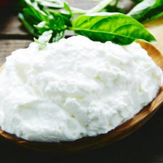 Creamy Homemade Ricotta Cheese