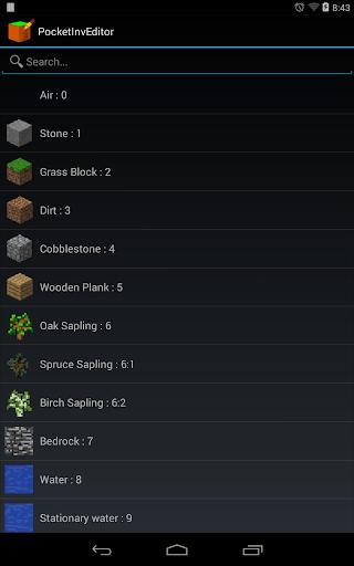 PocketInvEditor screenshot 7