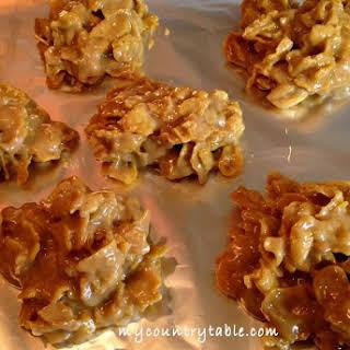 Corn Flake Peanut Butter Chews.