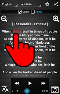 Lyrics Translator Pro Offline- screenshot thumbnail