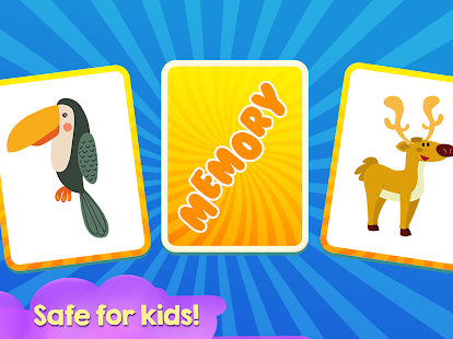 Memory Game for Children - Animals - náhled