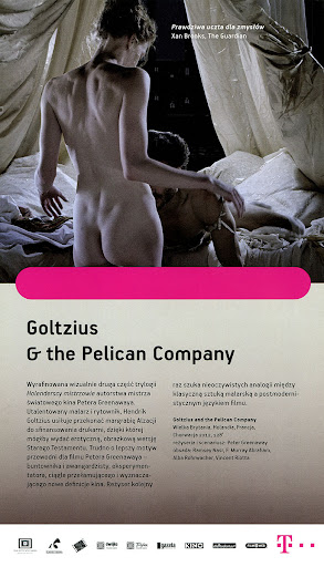 Tył ulotki filmu 'Goltzius & The Pelican Company'