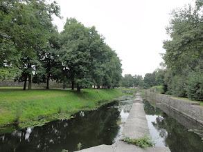 Photo: Nog vestingsgrachten in Condé