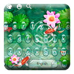 Vivid Koi Fish Keyboard Theme