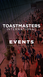 Toastmasters Events- screenshot thumbnail