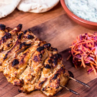 CHICKEN SHISH KEBAB.