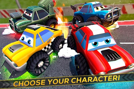 Cartoon Crash Cars Racing - náhled