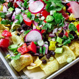 Loaded Plentils Nachos - snack or meal - you pick!.