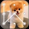 Puppy Dog Pattern Lock Screen icon
