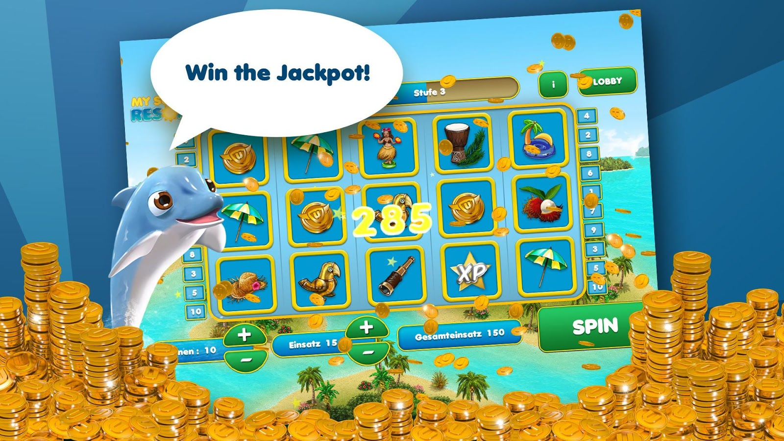 Upjers Casino- screenshot