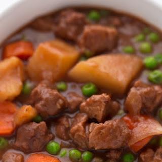 Vegan Spanish Beef Stew.
