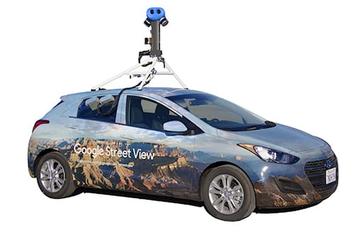 Street View photos come from two sources, Google and our contributors.