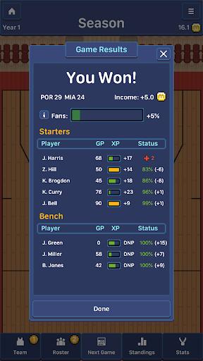 Hoop League Tactics 1.6.4 screenshots 7