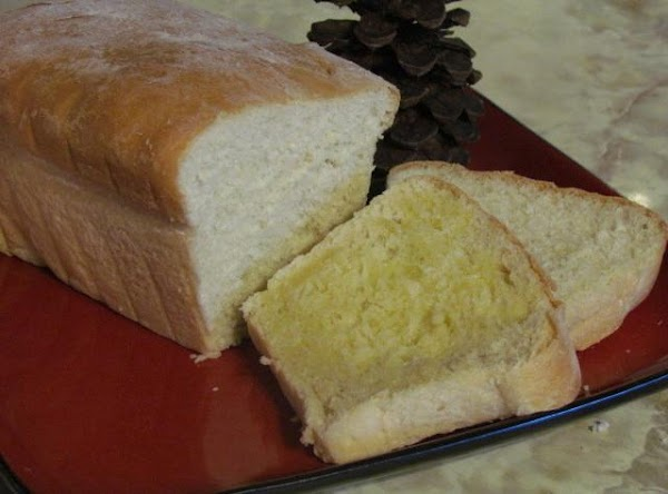 Bake at 350 degrees for 25 minutes.I made 2 white breads and 5 cinnamon...