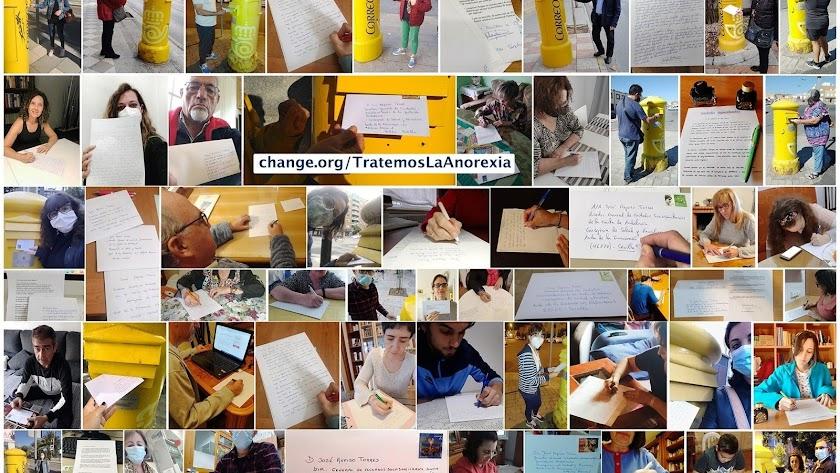 Patricia ya ha recibido decenas de fotos de personas escribiendo cartas a la Junta.