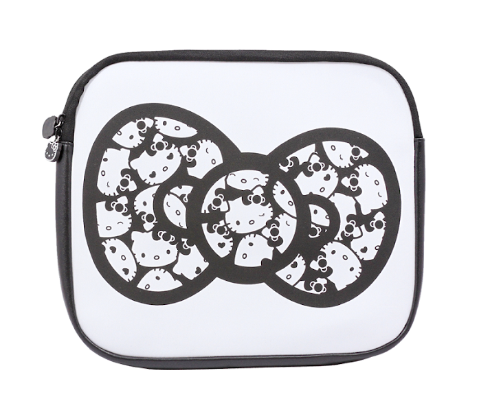 "Photo: Hello Kitty Black 13"" Laptop Sleeve: Monochrome http://bit.ly/M1CoGJ"