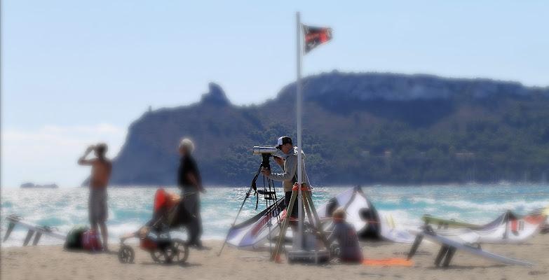 Inseguendo il volo del kitesurf di Awa