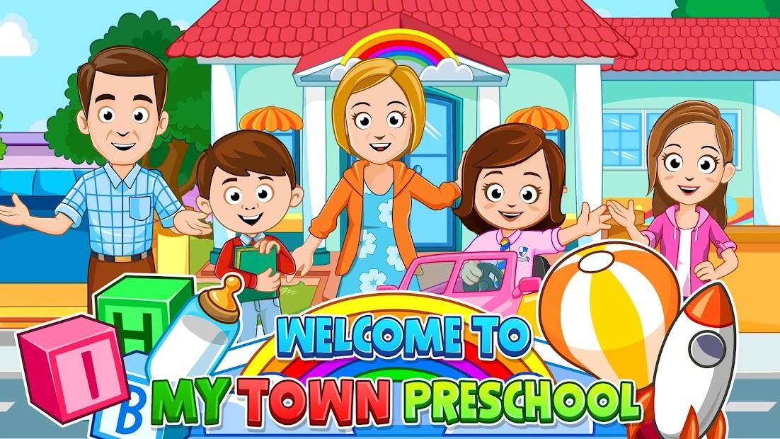 My Town : Preschool Free Android App Screenshot
