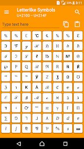 Character Pad – Unicode 1.2.1 MOD Apk Download 1