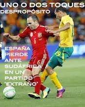 Photo: España pierde el partido en el estadio donde se coronó campeón del Mundo en un partido donde hizo un cambio más para acabar con un portero.