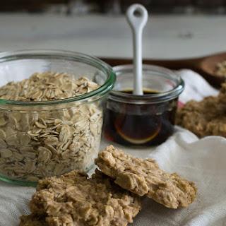 Simplest Maple Oat Cookies.