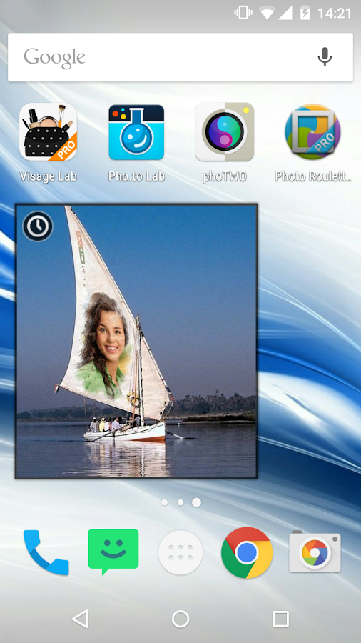 Photo Roulette Widget PRO- screenshot