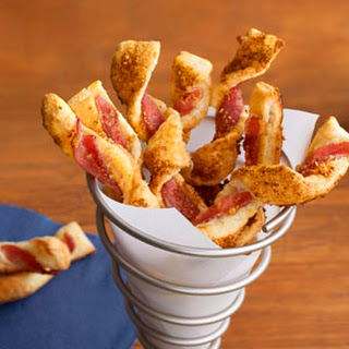 Brown Sugar & Bacon Puff Twists