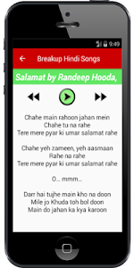 Breakup Hindi Songs screenshot 2