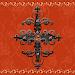 Orange Gothic Cross Go Locker theme Icon