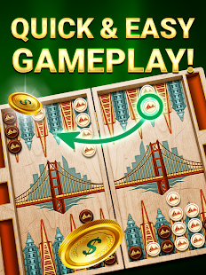 Backgammon Live: Free & Online Dice and Board Game- screenshot thumbnail